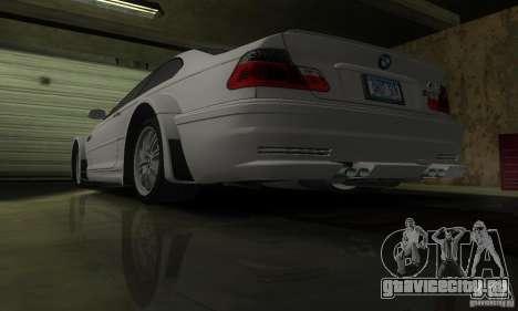 BMW M3 Tuneable для GTA San Andreas салон