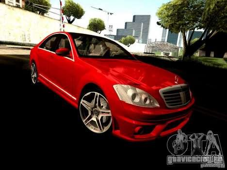 Mercedes-Benz S65 AMG 2007 для GTA San Andreas