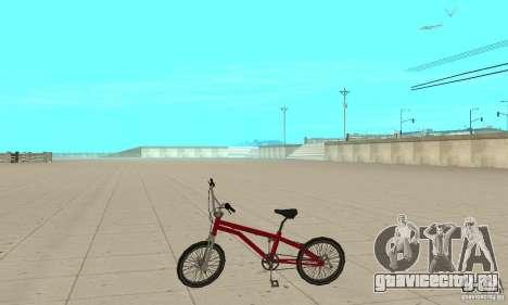 SA BMX для GTA San Andreas вид слева