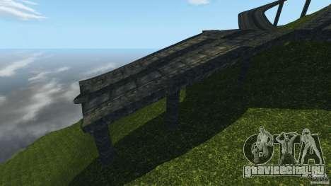 Crash Test Mountain для GTA 4 пятый скриншот