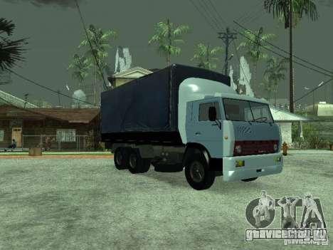 КамАЗ 5320 для GTA San Andreas вид сзади слева