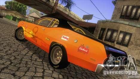 Plymouth Duster 440 для GTA San Andreas вид сбоку