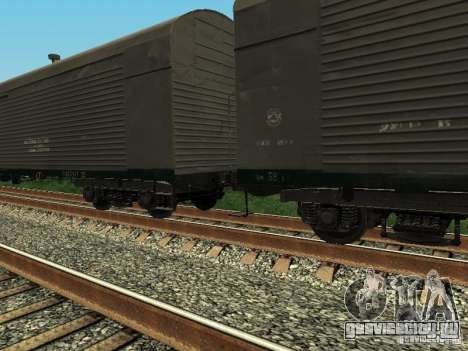 Рефрежираторный вагон Дессау №6 для GTA San Andreas вид слева