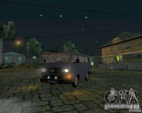 Volkswagen Transporter T3 для GTA San Andreas