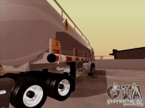 Прицеп к Kenworth T2000 для GTA San Andreas вид сзади