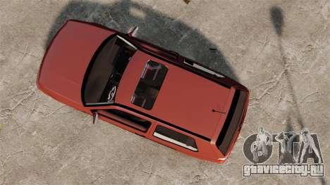Volkswagen Golf MK3 Turbo для GTA 4 вид справа