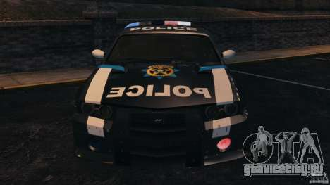 NFSOL State Police Car [ELS] для GTA 4 вид изнутри