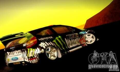 Ford Fiesta Gymkhana 4 для GTA San Andreas вид справа