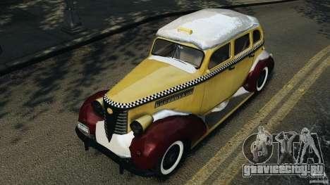 Shubert Taxi для GTA 4 вид сбоку