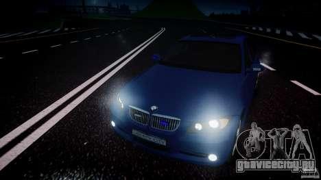 BMW 3-Series Unmarked [ELS] для GTA 4 вид сверху