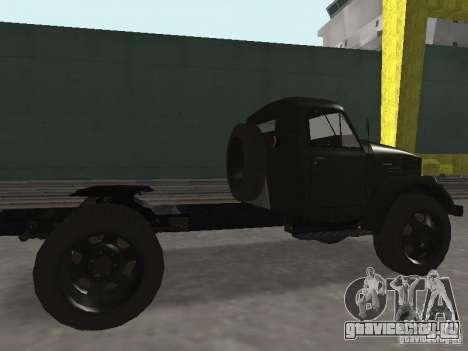 ГАЗ 51П для GTA San Andreas вид сзади слева