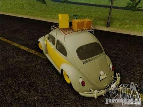 Volkswagen Beetle Edit для GTA San Andreas вид справа
