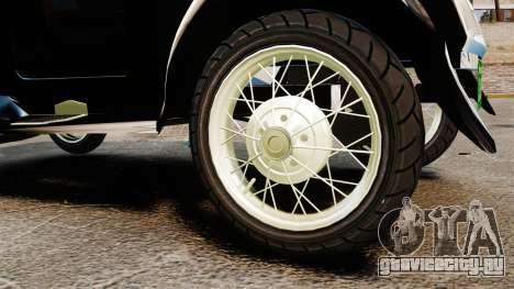 Ford Model T Sabre 1924 для GTA 4 вид сзади