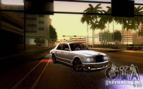 Bentley Arnage для GTA San Andreas двигатель