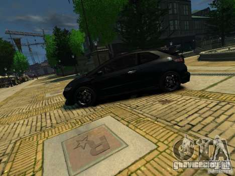 Honda Civic Type R Mugen для GTA 4 вид слева