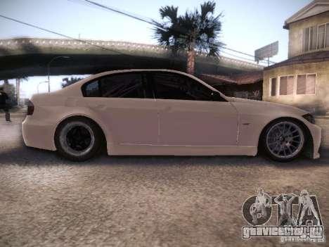 BMW 320SI Drift для GTA San Andreas вид изнутри