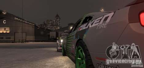 Ford Mustang Monster Energy 2012 для GTA 4 вид сверху