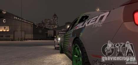 Ford Mustang Monster Energy 2012 для GTA 4 вид сверху