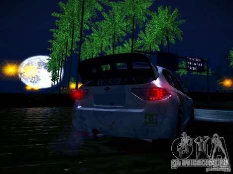 Subaru Impreza WRX STi N14 Rallycross для GTA San Andreas салон