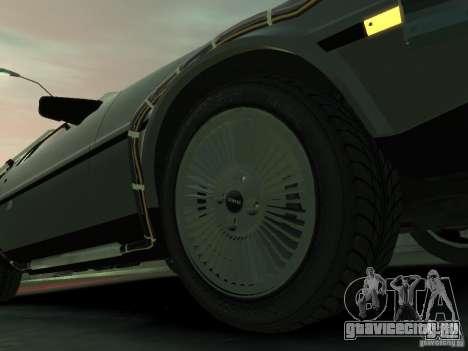DeLorean BTTF 2 для GTA 4 вид сбоку
