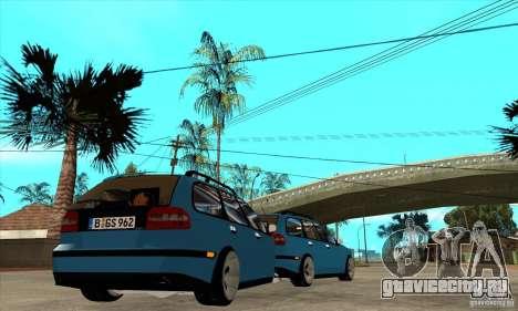 Прицеп к Volvo V40 для GTA San Andreas вид справа