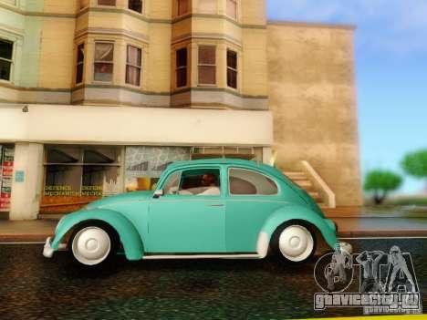 Volkswagen Beetle 1300 для GTA San Andreas вид справа