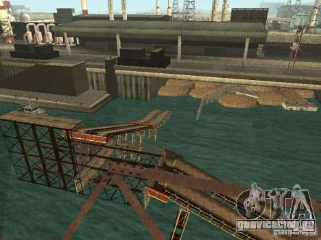 Huge MonsterTruck Track для GTA San Andreas