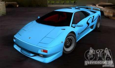 Lamborghini Diablo SV V1.0 для GTA San Andreas