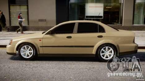 Chevrolet Evanda для GTA 4 вид сзади слева