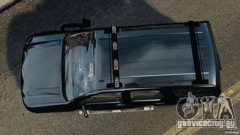 Chevrolet Tahoe LCPD SWAT для GTA 4 вид справа