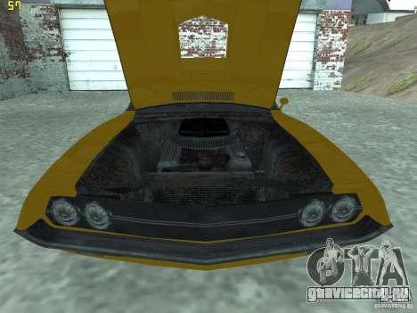 Ford Torino 70 для GTA San Andreas вид справа