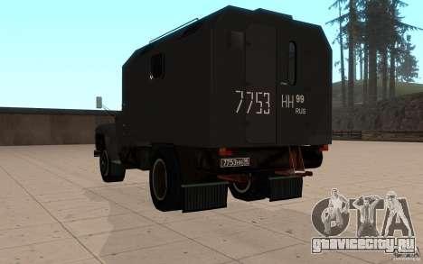 ЗиЛ 130 Радио Бутка для GTA San Andreas вид сзади слева