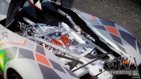 Mazda Furai Concept 2008 для GTA 4 вид изнутри