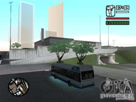 DAF для GTA San Andreas вид сзади слева