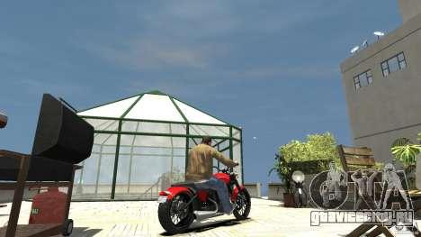The Lost and Damned Bikes Nightblade для GTA 4 вид сзади слева