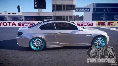 BMW E92 для GTA 4 вид сбоку