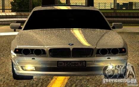 BMW 750iL E38 для GTA San Andreas салон