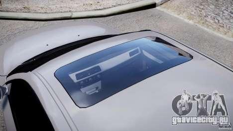 BMW M5 E60 2009 для GTA 4 вид сверху
