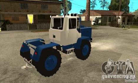 Трактор Т150 для GTA San Andreas вид справа