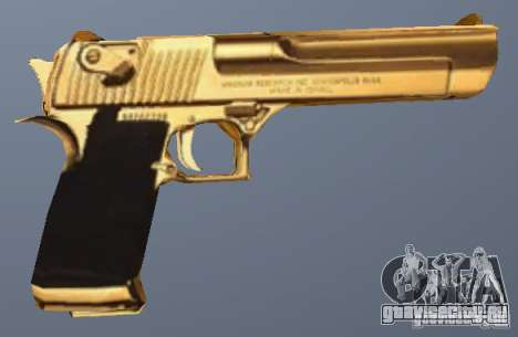 Desert Eagle Золотой для GTA San Andreas