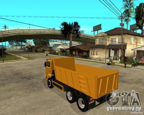 КамАЗ 6520 TAI для GTA San Andreas вид слева