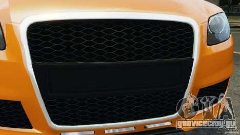 Audi RS4 EmreAKIN Edition для GTA 4 вид снизу