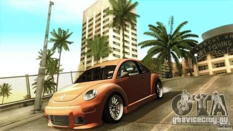 Volkswagen Beetle RSi Tuned для GTA San Andreas