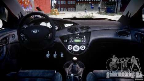 Ford Focus SVT для GTA 4 вид справа