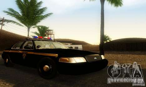 Ford Crown Victoria Montana Police для GTA San Andreas