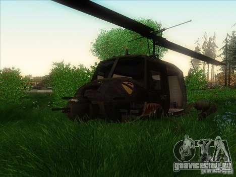 Вертолёт huey из call of duty black ops для GTA San Andreas