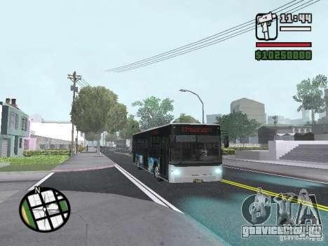 CityLAZ 12 LF для GTA San Andreas вид сбоку