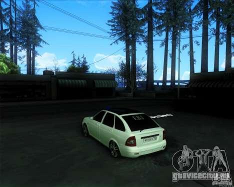 ВАЗ 2172 PRIORA для GTA San Andreas вид слева