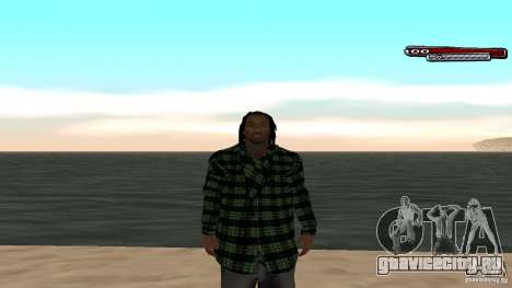 New skin Grove HD для GTA San Andreas пятый скриншот