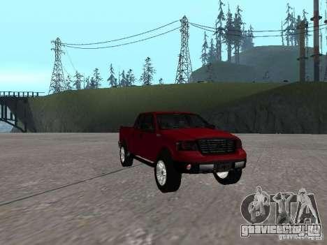Ford F-150 2005 для GTA San Andreas вид сзади
